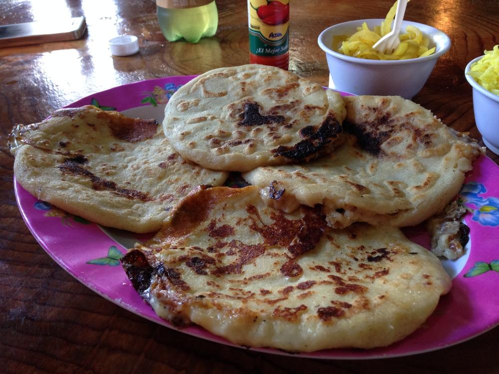 Plate of Pupusas