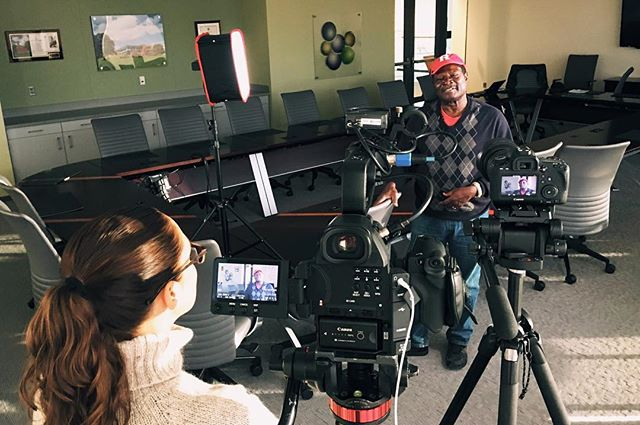 Throwback to shooting with Rutgers ethnic crops specialist, Dr. Albert Ayeni. Hands down the best part of my work is meeting and learning from such a diverse group of people.