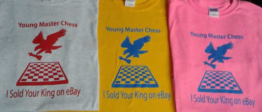 Chess Shirts Screen Printed