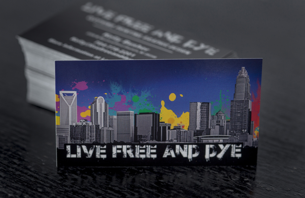 Business Cards and more from Live Free And Dye Charlotte