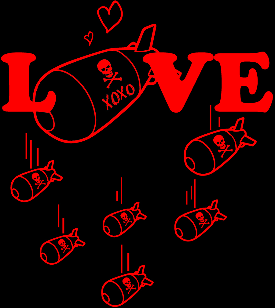small t shirt live free charlotte website Love bomb design.jpg
