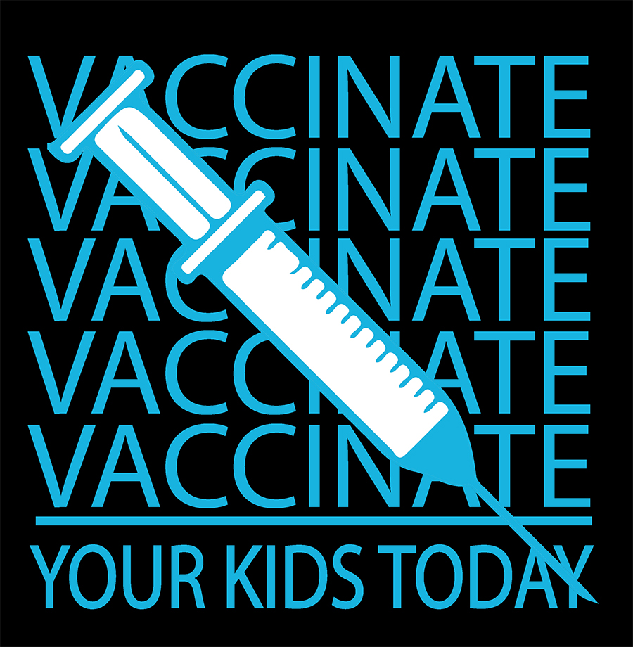 vaccinate your kids design
