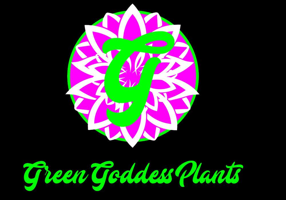 green godess plants logo 2 live free and dye