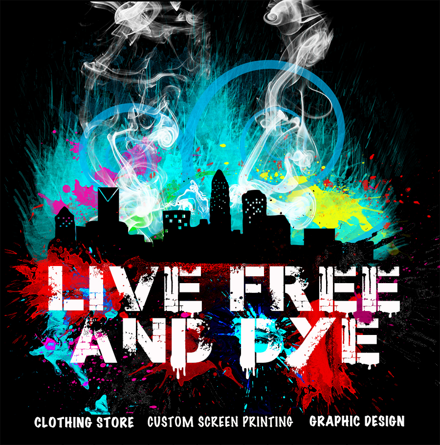 live free and dye clothing flyer graphic design cgi conceptual design.jpg