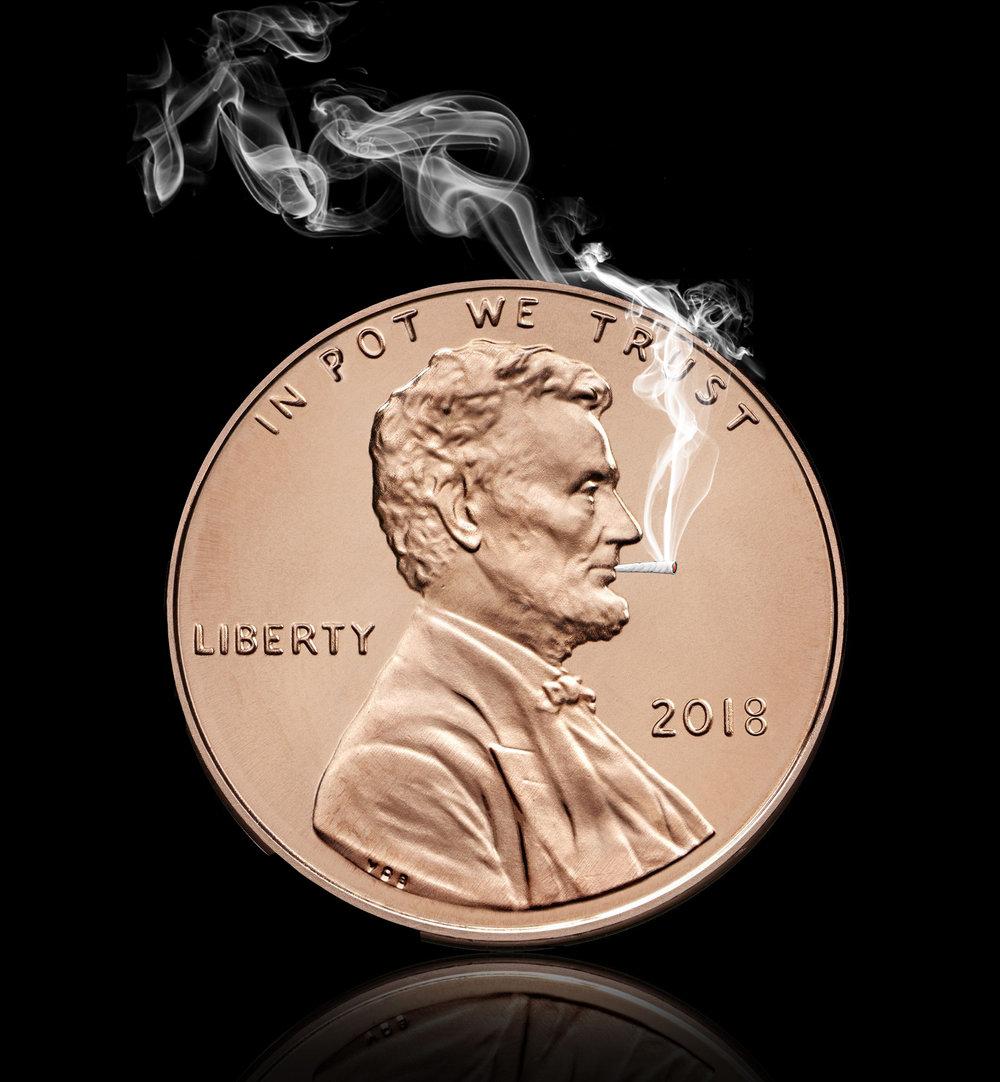 in pot we trust lincoln penny.jpg