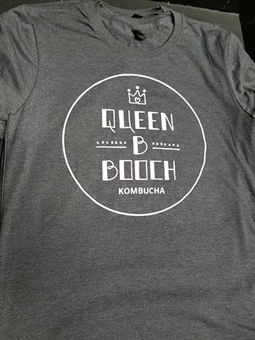 Live Free And Dye prints Queen B Kombucha t shirts