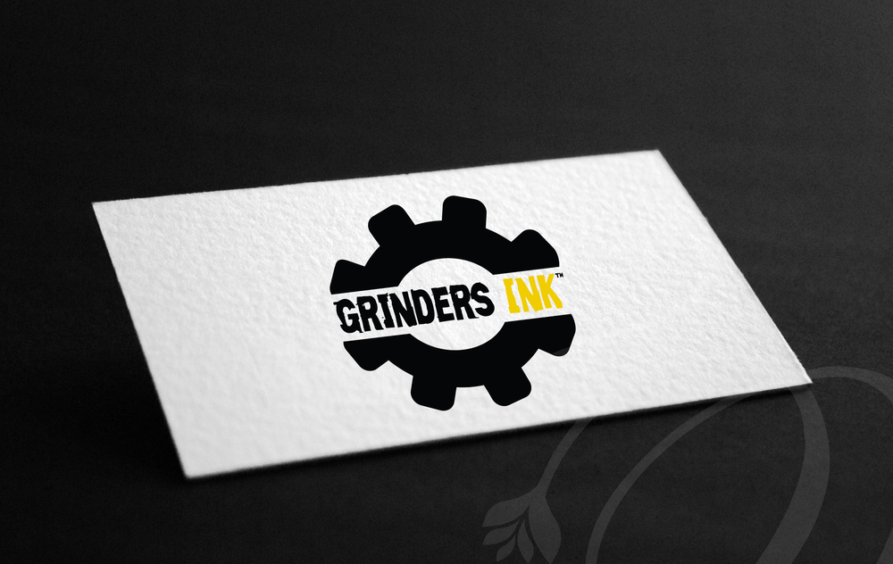 Grinders Ink logo — Lotts of Designs