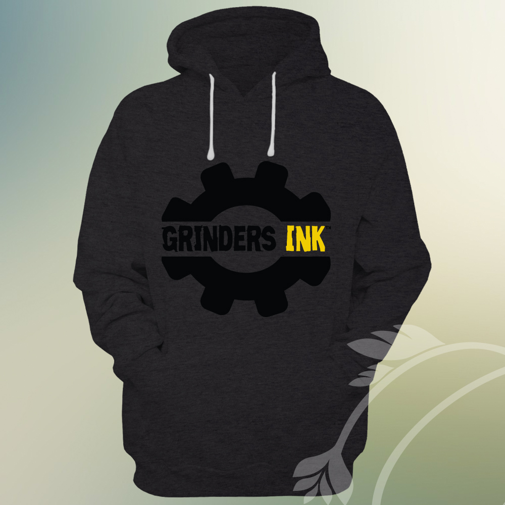 Grinders Ink Hoodie Mock up