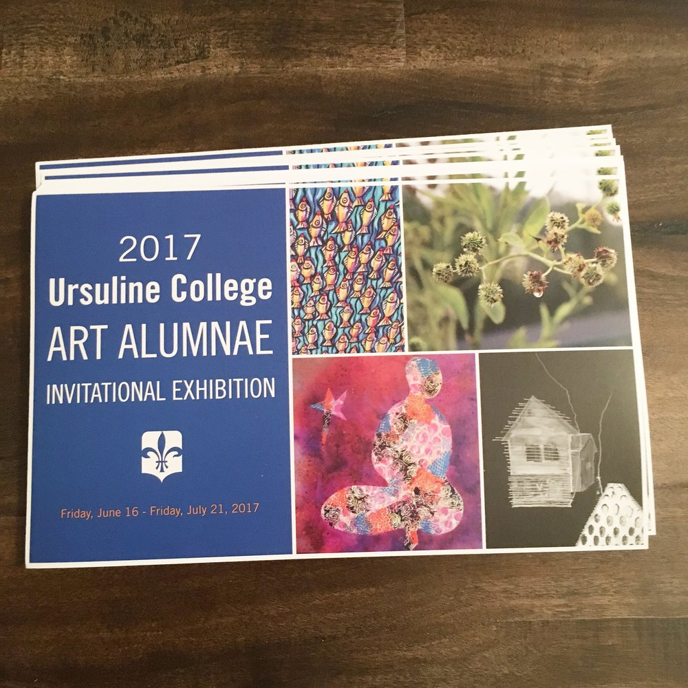 Alumnae Art Exhibit Post Card