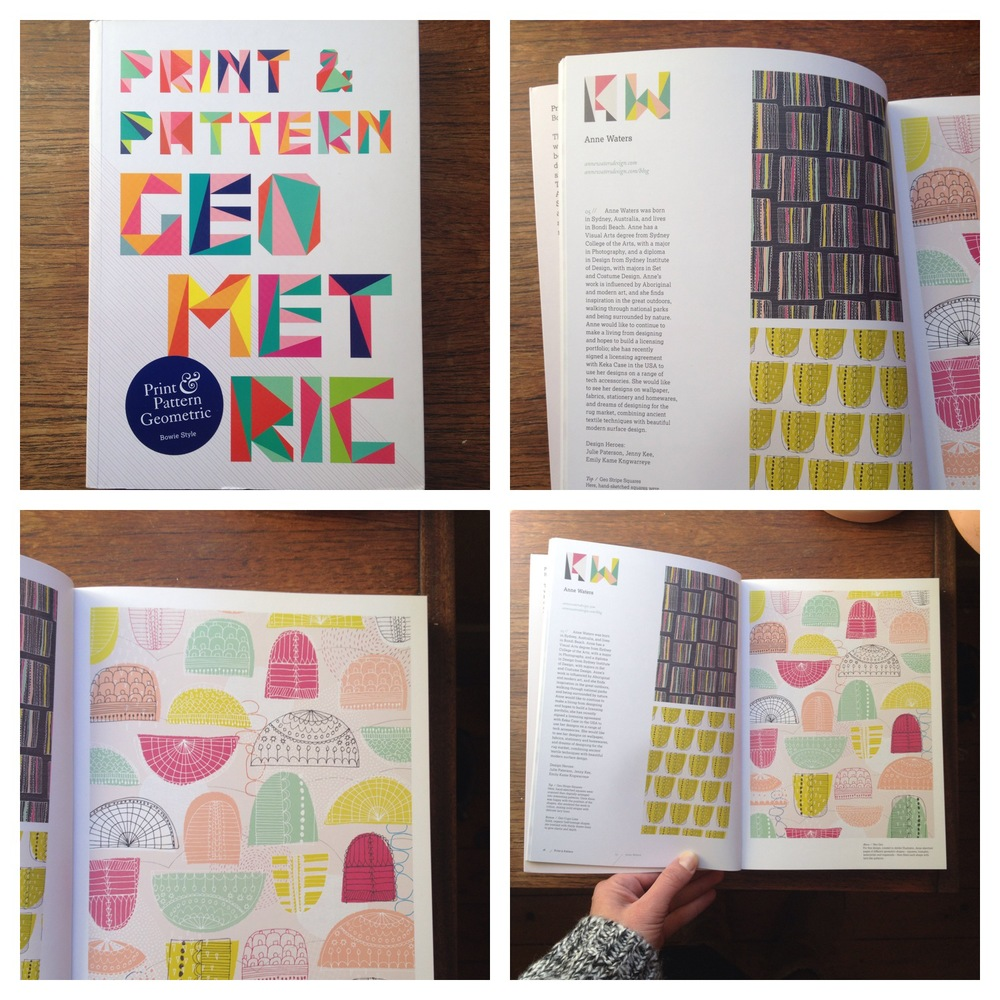 Excited to have my neo geo collection published in the latest print and pattern book.
