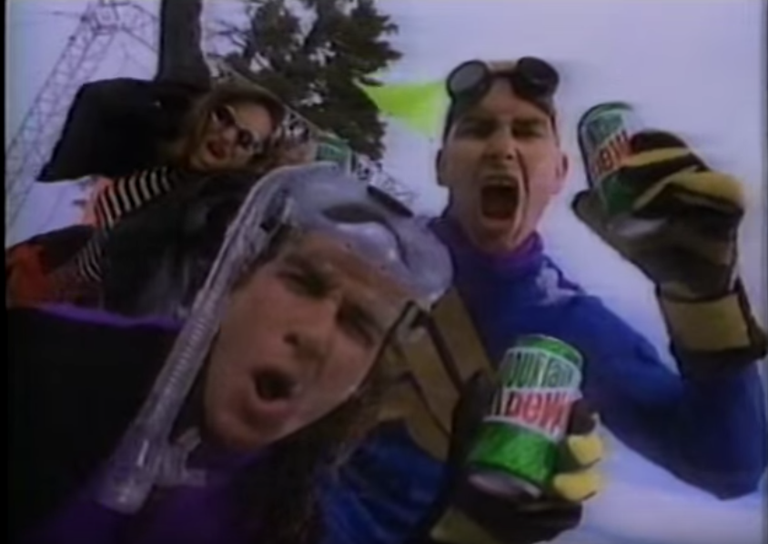 Actual Nat Geo documentation of 90s youth.