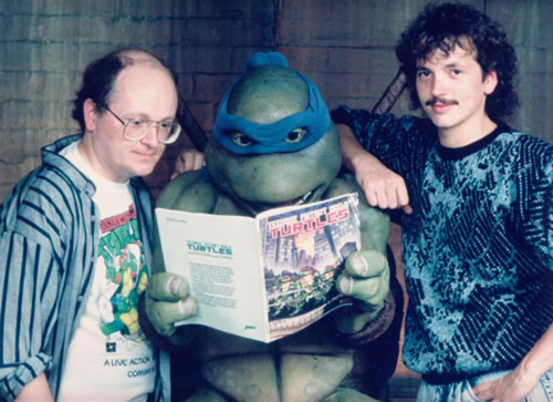 Living legends. Cowabunga!
