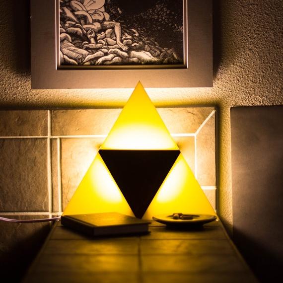 Triforce Light   Wall Mountable