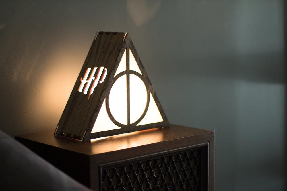 Deathly Hallows lamp 3