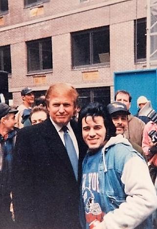 Tony & Donald Trump The President Of The USA