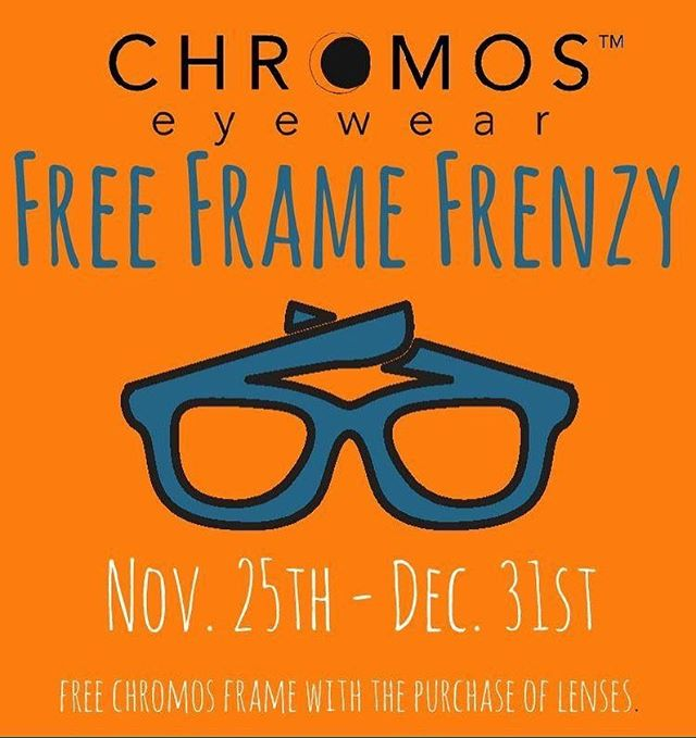 Free. Frame. Frenzy. Now through the end of the year! See store for details. #frameyourlife #chromos #lvpgh