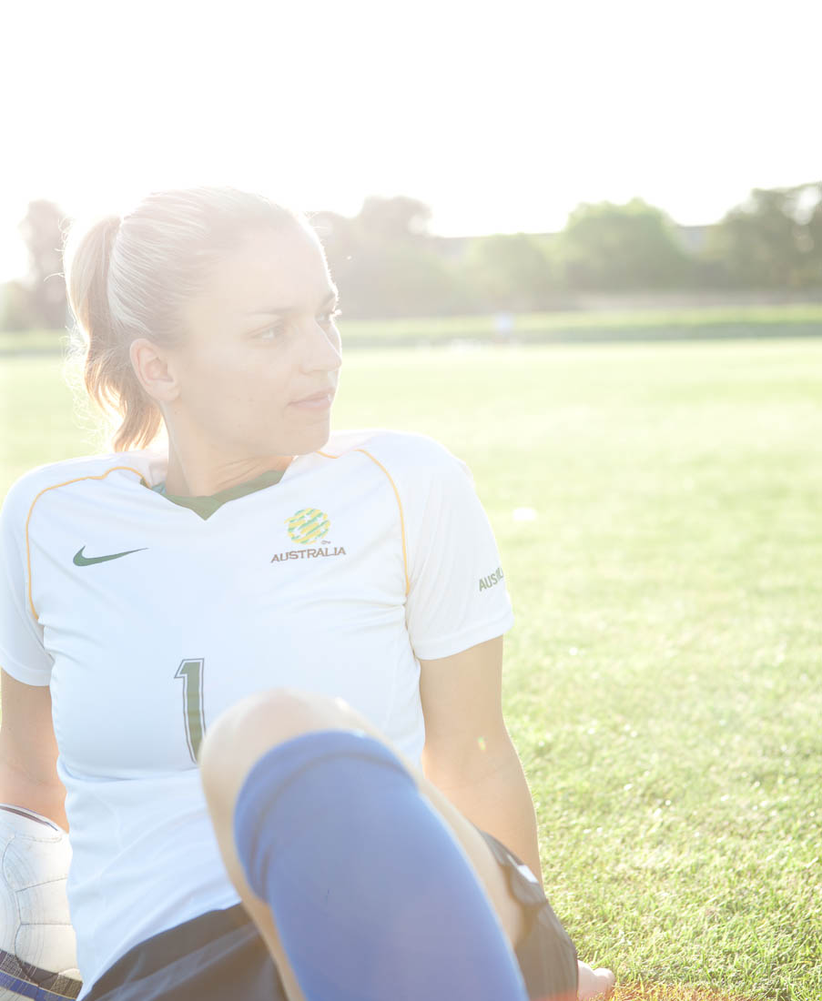 Melissa Barbieri, Captain of Australian Soccer team