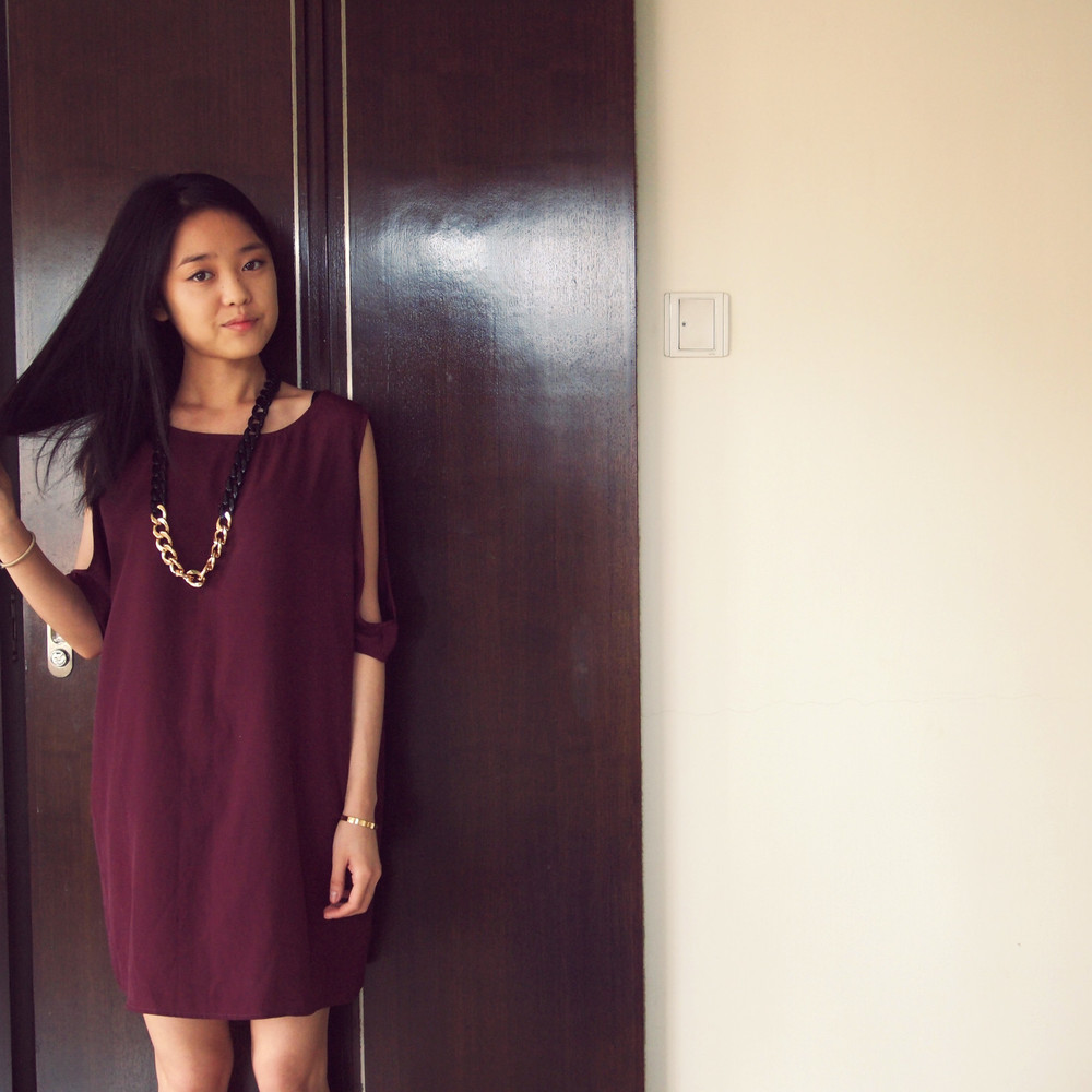 BB Dakota  Dress,  Forever 21  Necklace