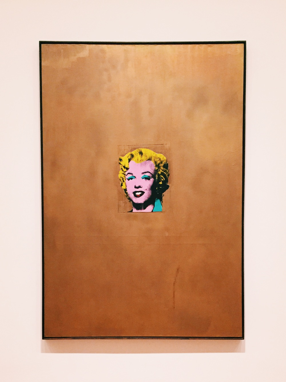 Andy Warhol //  Gold Marilyn Monroe  (1962)