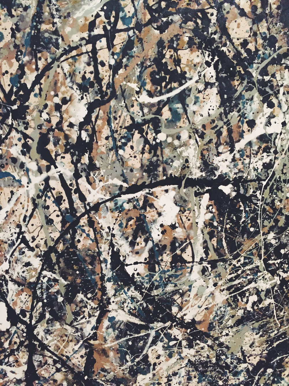 Jackson Pollock //  One: Number 31, 1950  ( 1950)