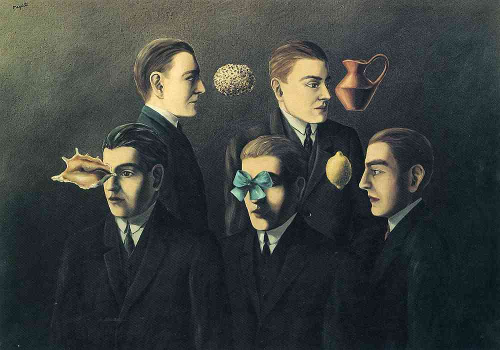René Magritte // The Familiar Objects (1928)