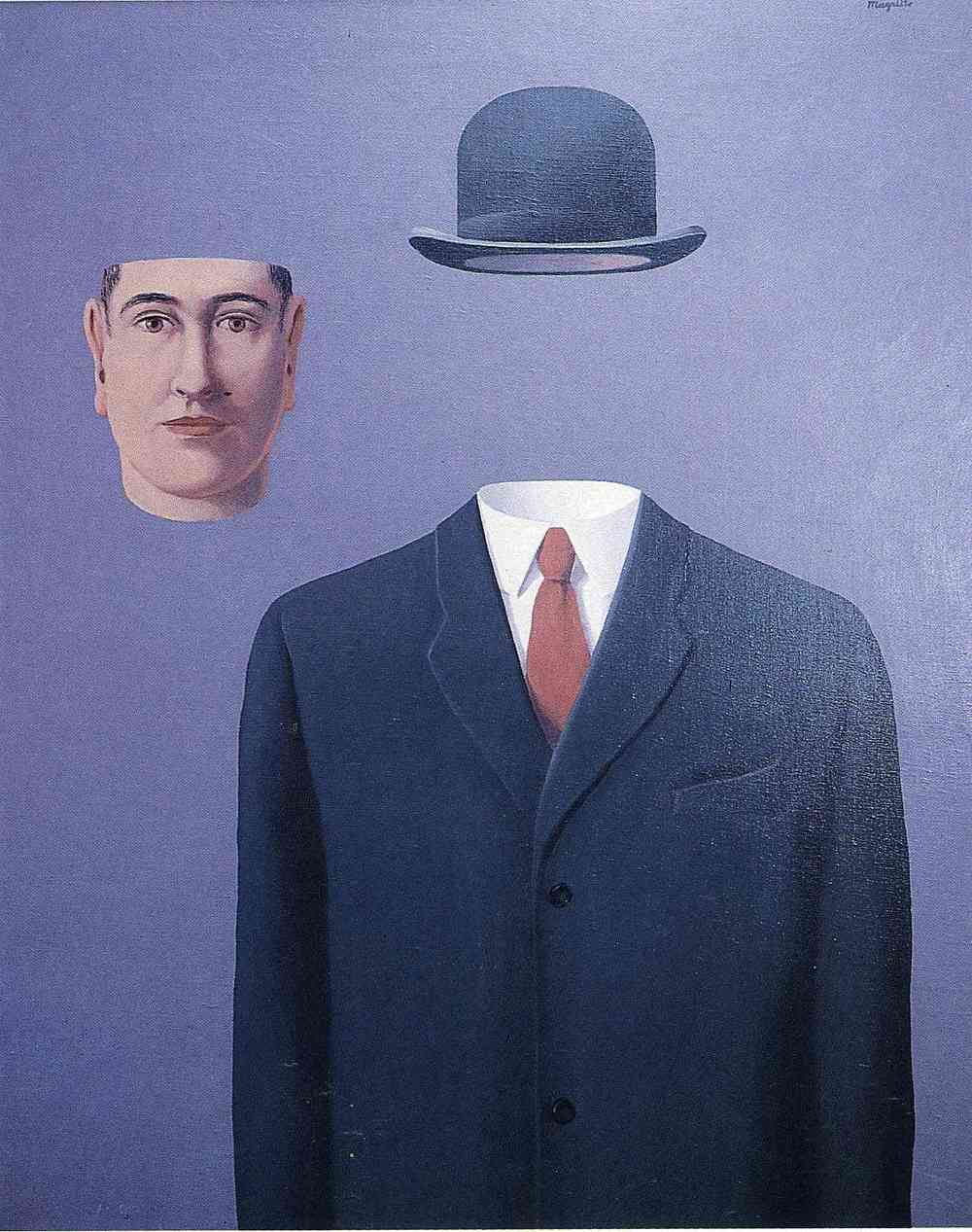 René Magritte // The Pilgrim (1966)