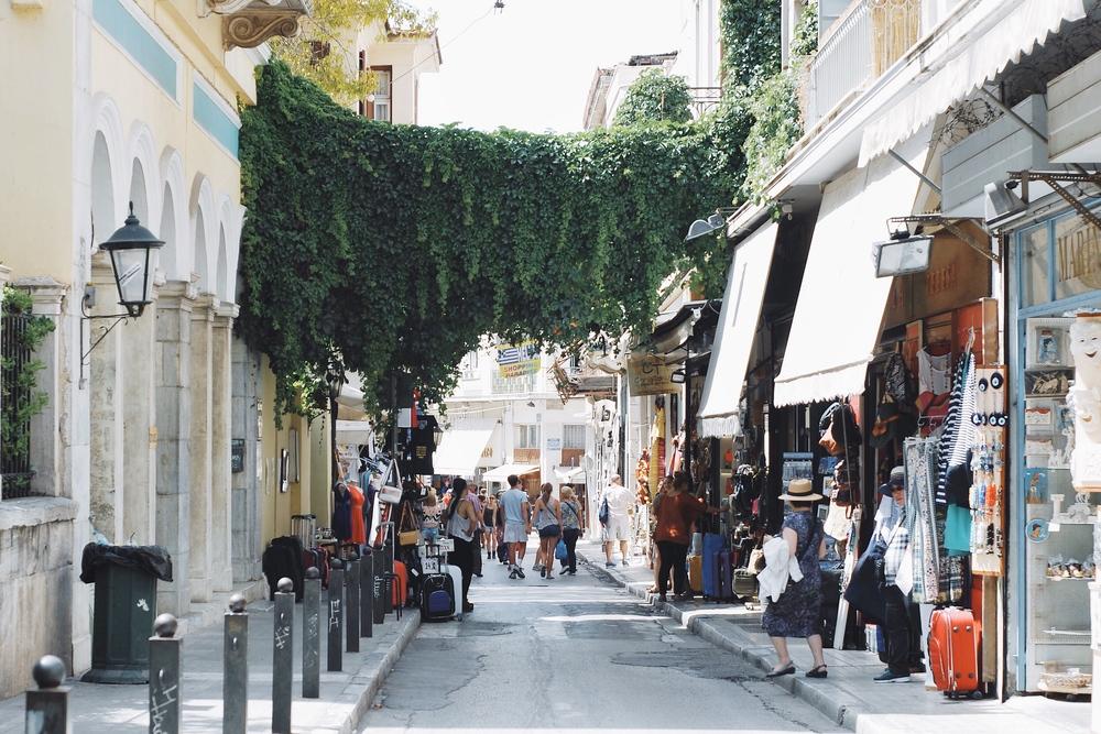 Adrianou Street, Plaka