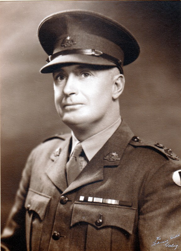 Lt. Col. J.C. Robertson C.O.