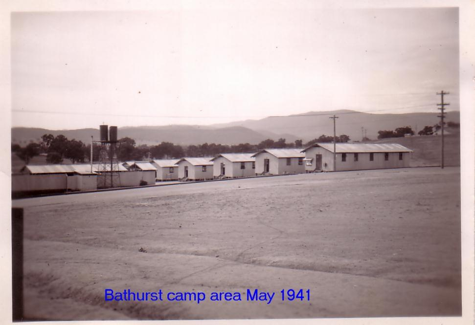 Bathurst Camp Area May 1941
