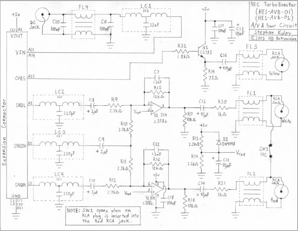 TurboBooster AV & Power Circuitry