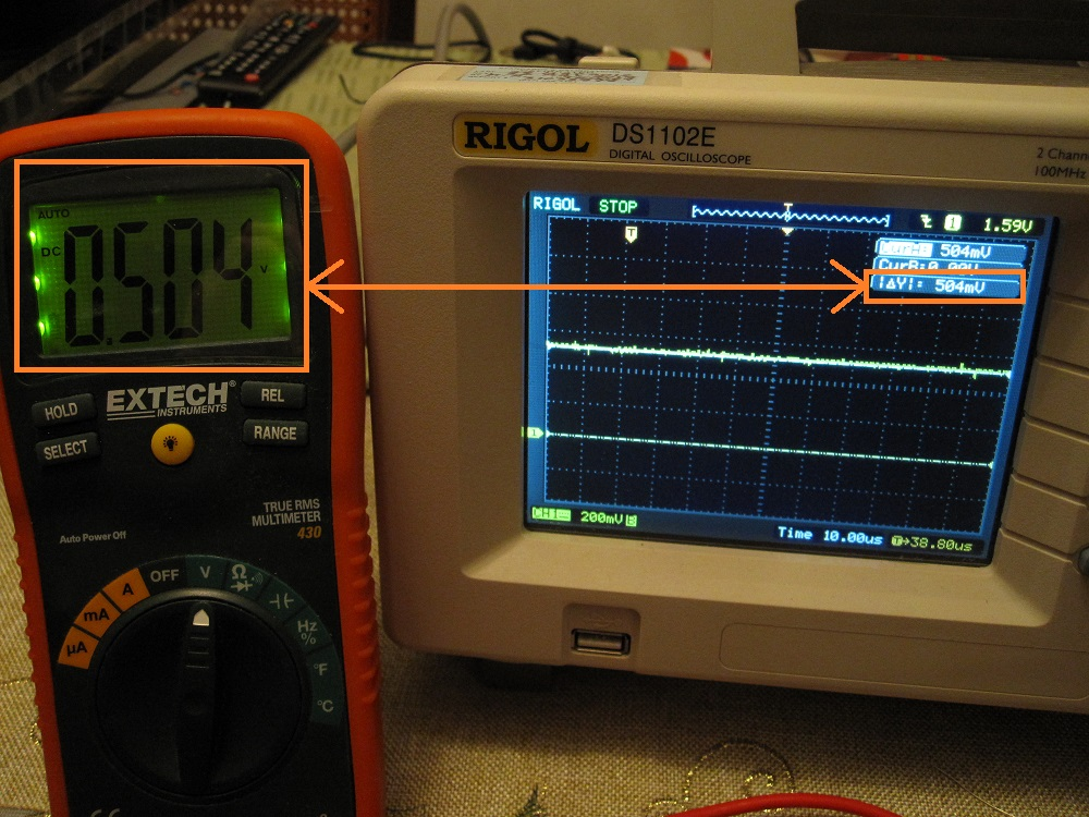 Basic oscilloscope verification