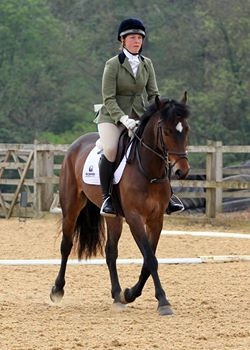 Dressage at Wittering April 2017