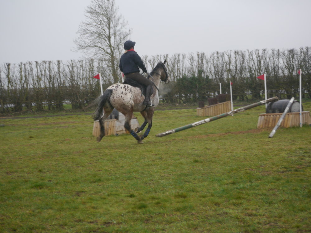 XC training with Richard Jones on 3rd March 2019 .