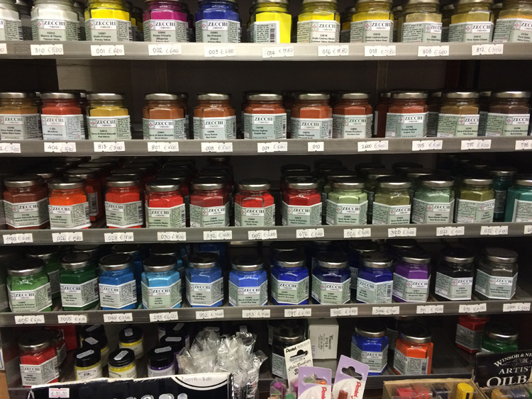 Zecchi Fine Arts  - a beautiful place to gather art supplies - Indirizzo: via dello Studio 19r - 50100, Firenze