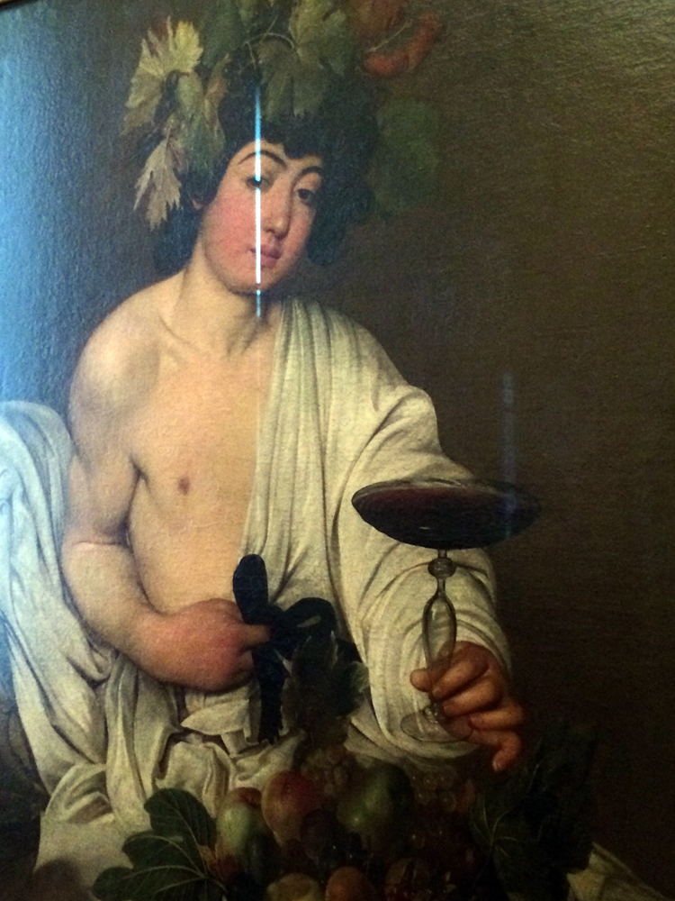 Caravaggio's Bacchus