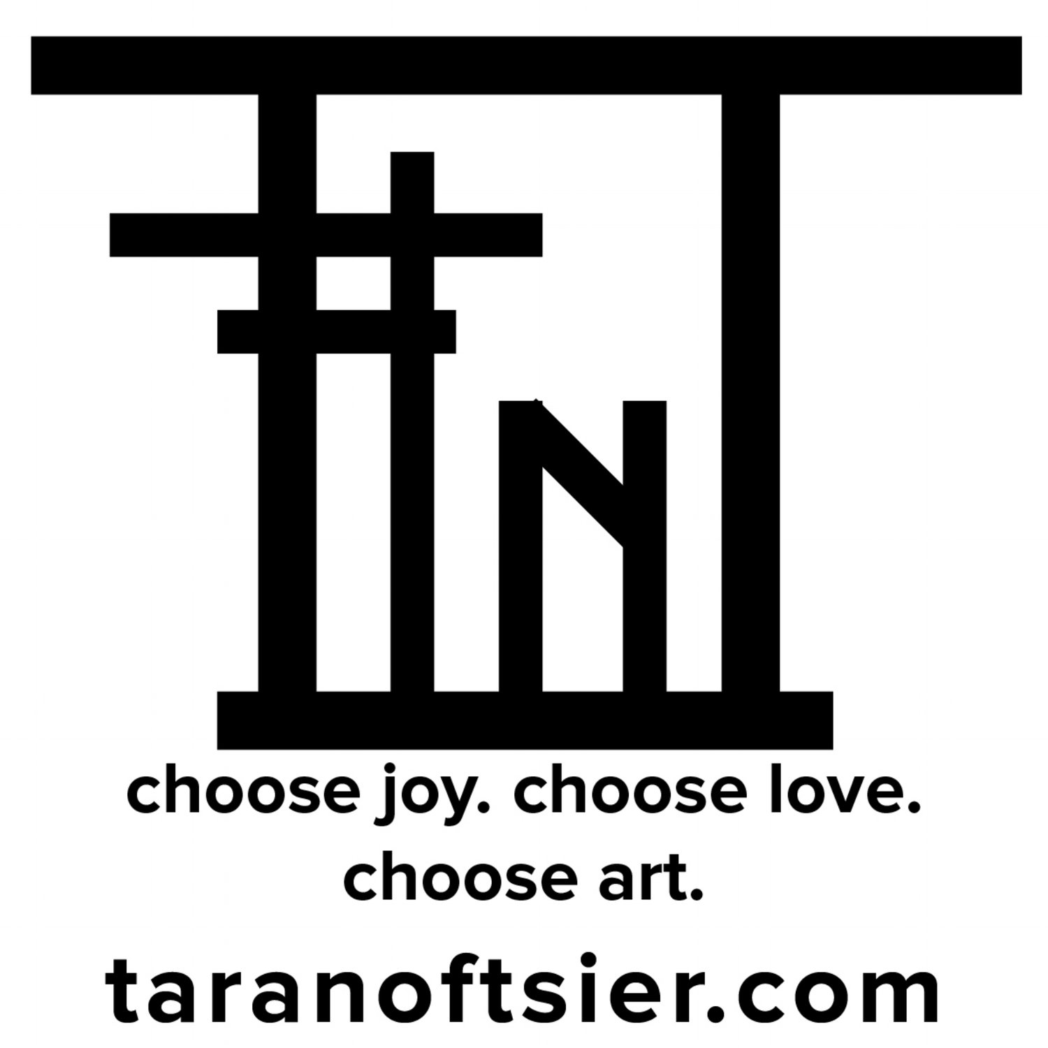 tara noftsier art studio - choose joy. choose love. choose art.
