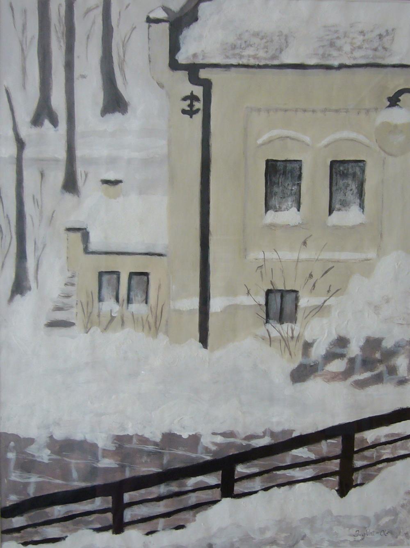 Vinter i Nydalen