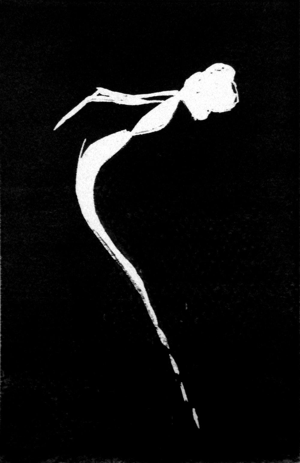 Havfruen, svart