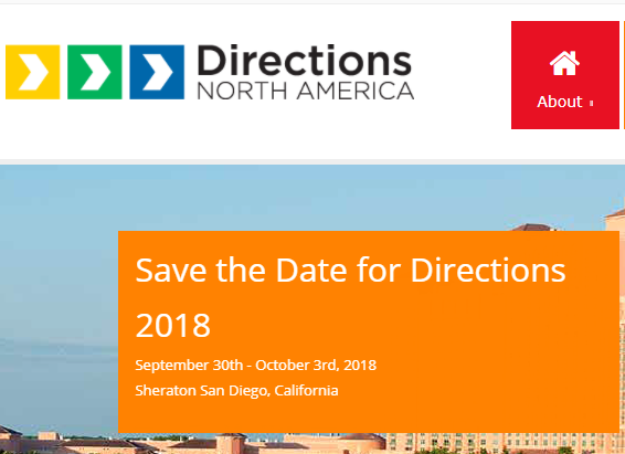 "Directions North America 2017, September 17th-20th, JW Marriott Orlando Grande Lakes, Orlando, Florida!  Thank you to all our attendees, speakers, sponsors, and exhibitors, for making Directions North America 2017 such a success!  Make sure to fill out your Directions North America session evaluations on your App, to help raise money for Skyview Elementary School, a low-income Florida school damaged by Hurricane Irma. Directions will donate $2,500 for the first 1,500 surveys, and if we receive more that 1,500, we will donate $5,000.  If you would like to also donate directly to this cause, you can do so here:   https://www.gofundme.com/DirectionsNA   Directions North America –  Gateway to the Dynamics SMB Market   The Directions North America conference is the Microsoft Dynamics event driven by Partners - for Partners designed to help Dynamics organizations serving the SMB market build new business contacts, learn about best practices, and discover valuable tools for execution and success.   This year, the event will provide comprehensive insights into the future of Dynamics with sessions on Dynamics 365, Business Edition as well as Dynamics NAV ""Tenerife"" (code name for the next NAV release).   The    only    North American conference for Microsoft Partners to discover more about Dynamics 365, Business Edition.   Directions North America is here to empower Microsoft Dynamics SMB partners to boost the efficiency of their business in all areas: Executive, Technical, Marketing, Sales, Operations, and Planning.  You will find a wealth of sessions and speakers to propel you to success. Learn about Microsoft Dynamics 365, Business Edition (Financials, Sales, and Marketing).  Dive deep into Microsoft Dynamics NAV ""Tenerife"" (code name for the next NAV release). Additionally, use the many networking opportunities at the Conference to grow and enhance your relationships with other partners, ISVs, service providers, and Microsoft.  Who should attend?   All Dynamics Partners serving the SMB market , eager to learn how to include Microsoft Dynamics 365, Business Edition into their business model   Existing NAV partners  for a deep-dive into all things NAV   ISV companies and Service Providers  dedicated to enhancing the Dynamics SMB market   Any other Microsoft partners  interested in learning about Dynamics 365, Business Edition  Be Part of Directions 2017  Register as an  Attendee  -   Register now and save!    Become a  Sponsor or Expo Exhibitor   Stay informed on the latest Directions news by  signing up for e-mail alerts ."