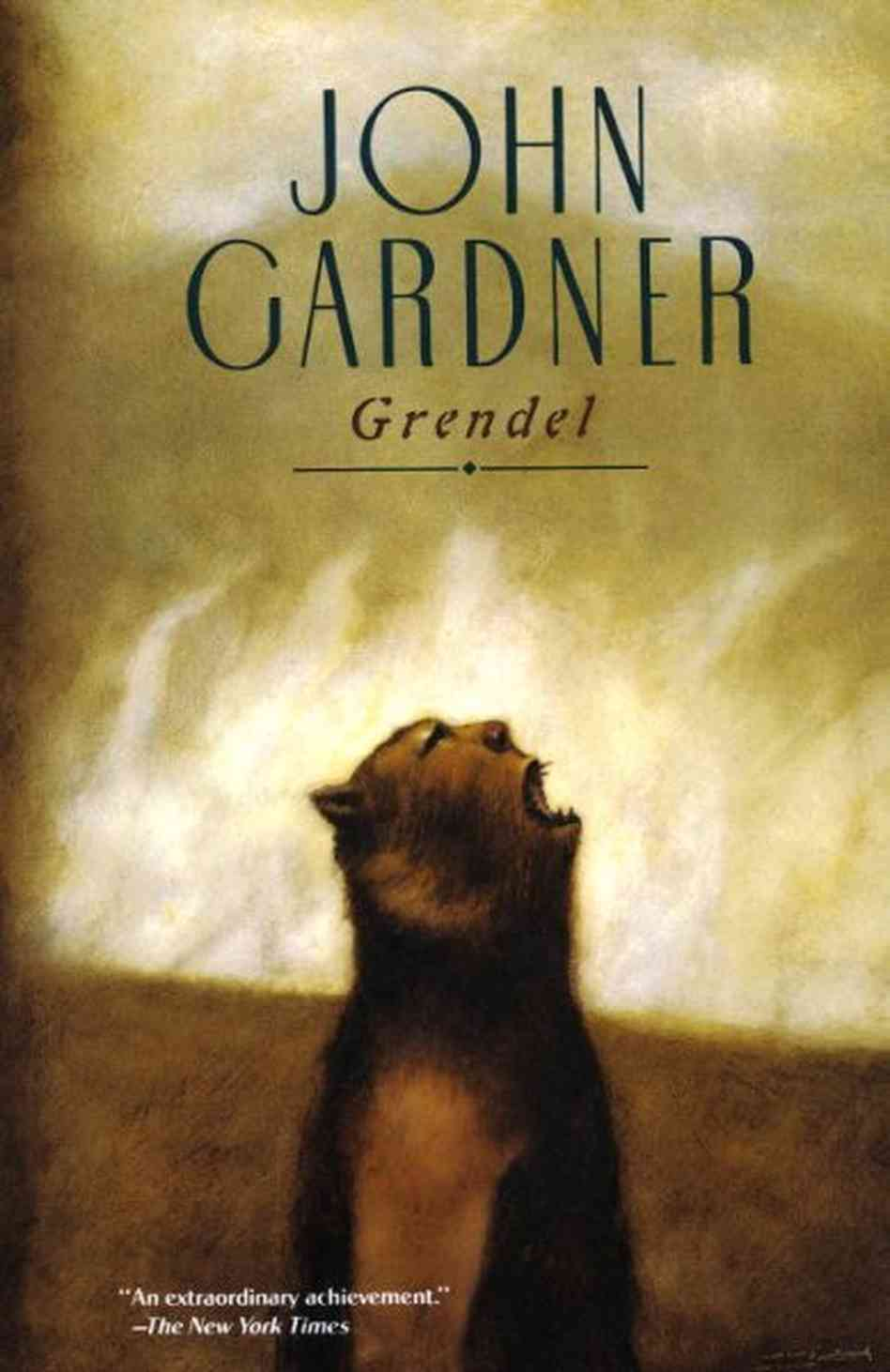 The two different sides of grendel in beowulf by john gardner
