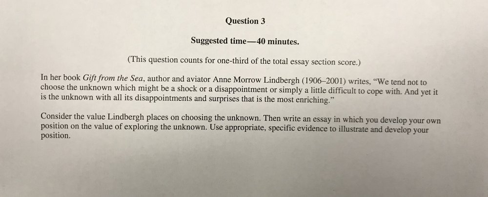 Essays On English Language Complete Practice Argument Essay On Lindberghs Comments Regarding The  Unknown For Class Example Of A Essay Paper also George Washington Essay Paper Complete Practice Argument Essay On Lindberghs Comments Regarding  How To Use A Thesis Statement In An Essay