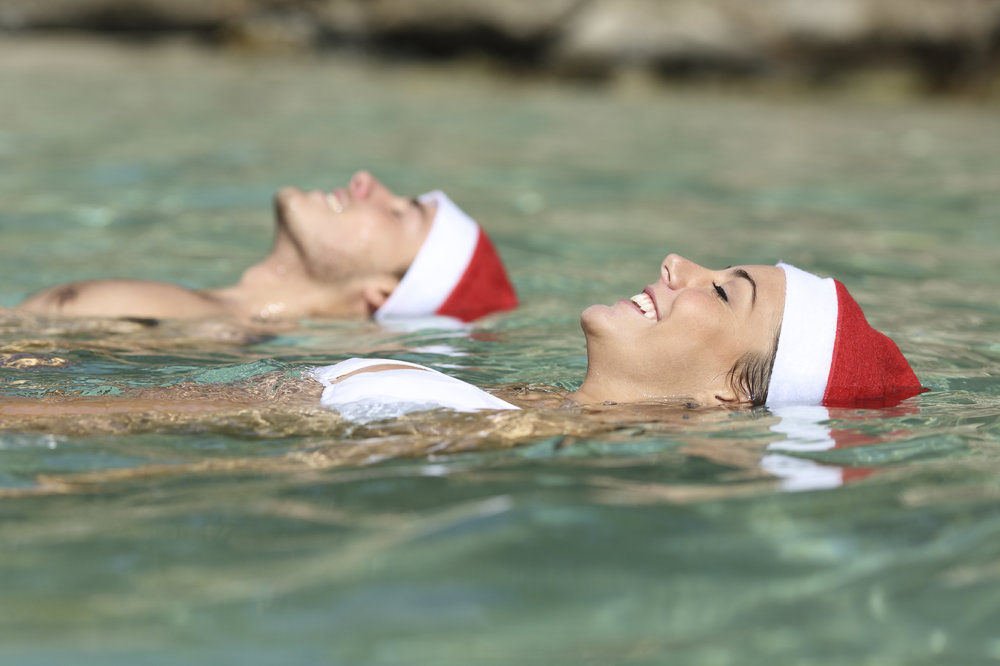 Floating People holiday hats.jpg