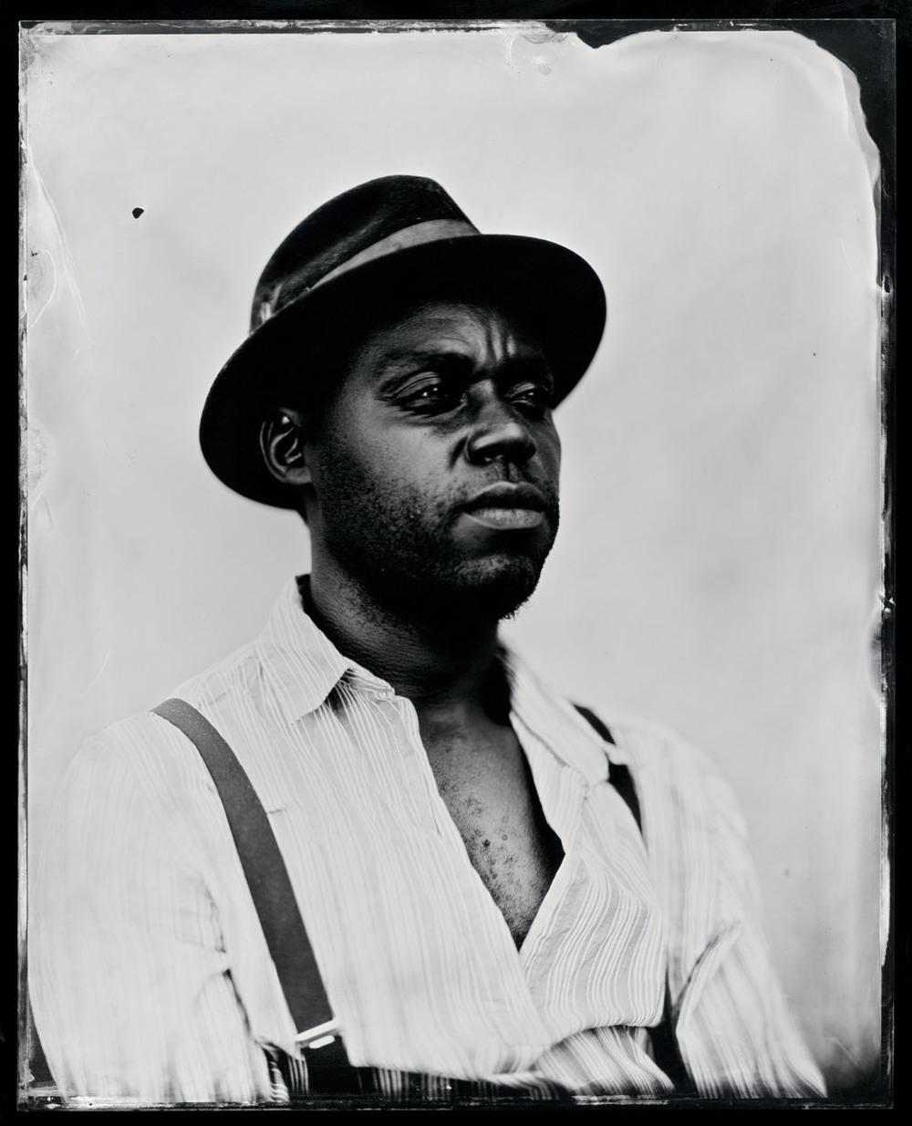 Cedric Watson , tintype, 8x10.