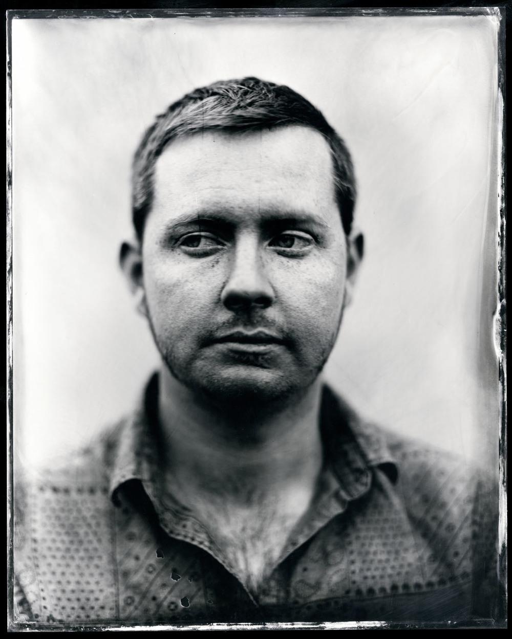 John Fullbright , tintype, 8x10.