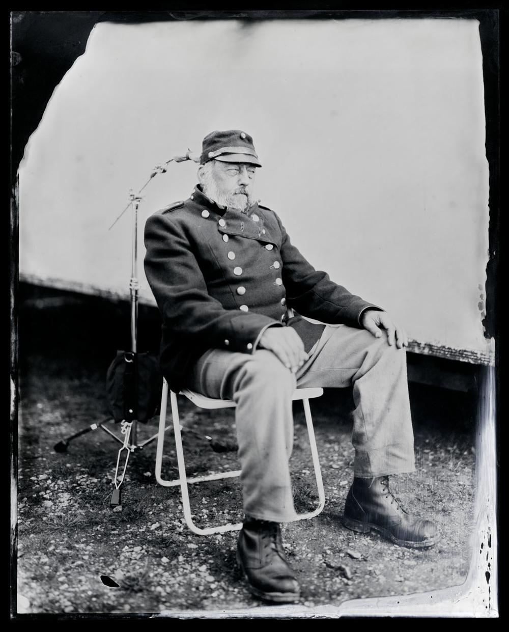 Jørn Jessen , tintype, 8x10.