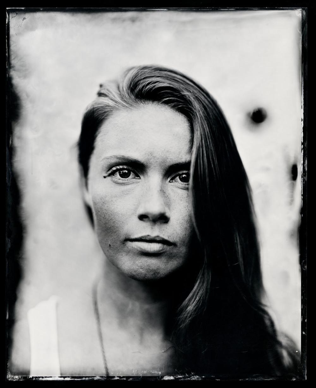 Kendel Carson , tintype, 8x10.