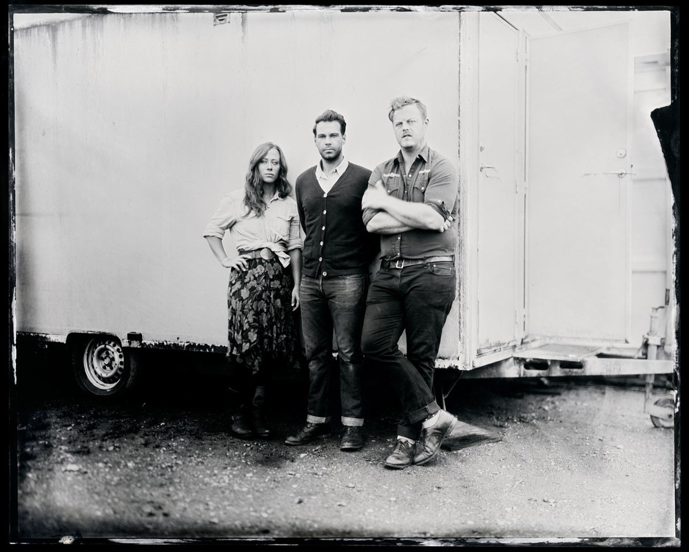 The Lone Bellow, tintype, 8x10.