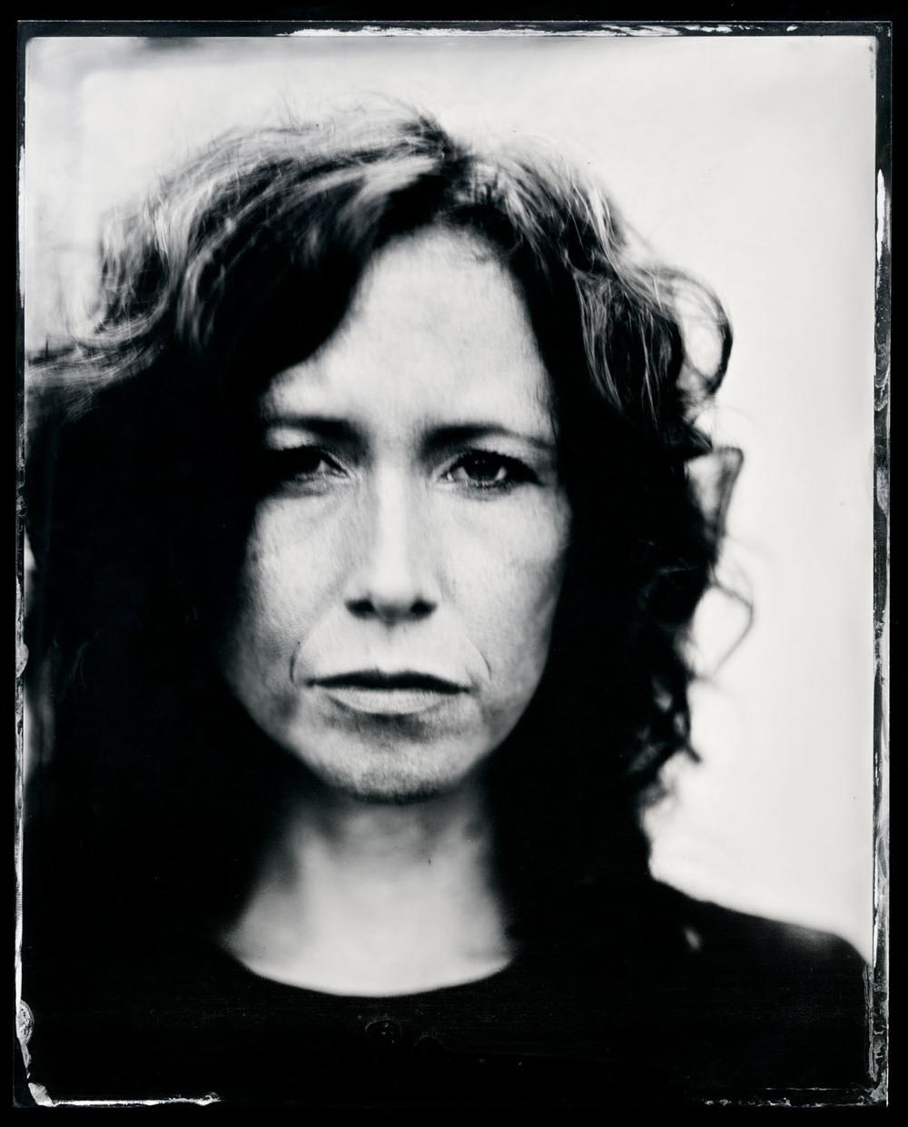 Sarah Lee Guthrie , tintype, 8x10.