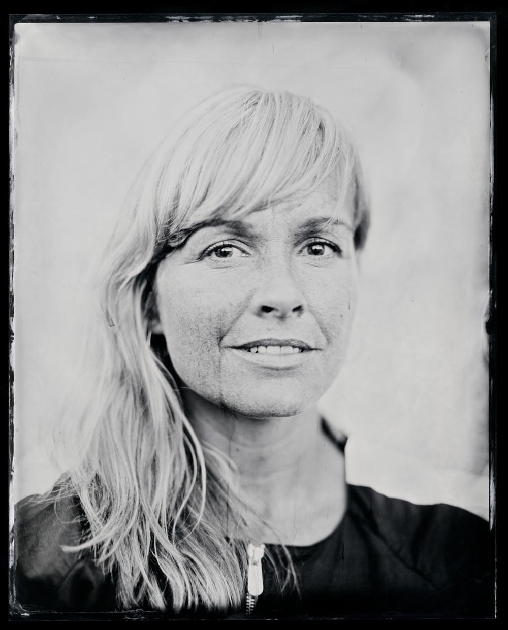 Signe Svendsen , tintype, 8x10.