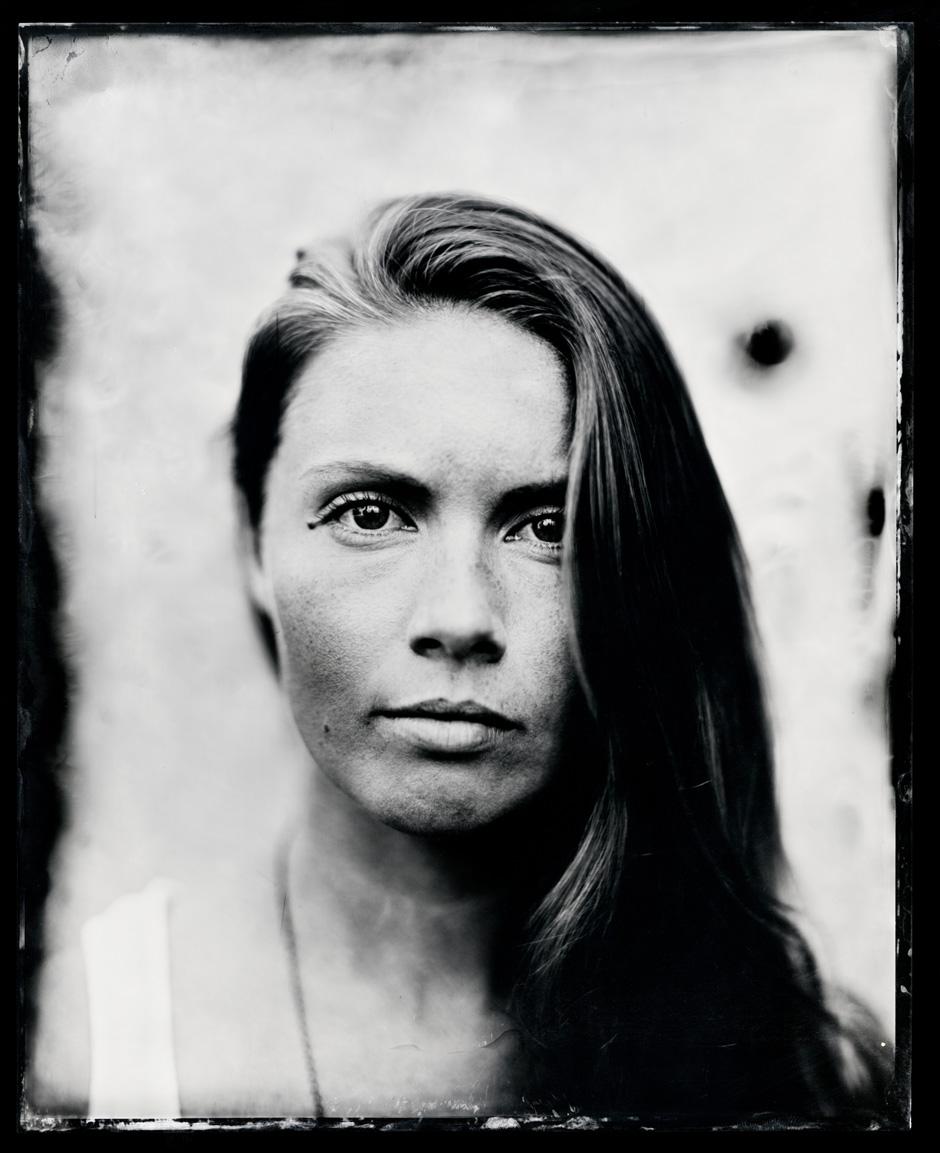Kendal Carson, tintype, 8x10.